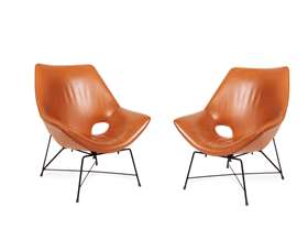 A pair of Kosmos model chairs