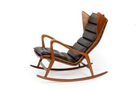 Rocking chair, model no. 572