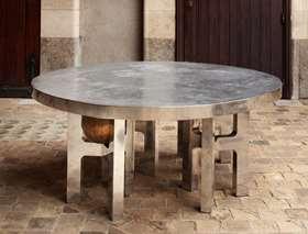 Sculptural 'Lune' table