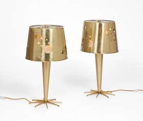 Pair of 'Lattea' table lamps